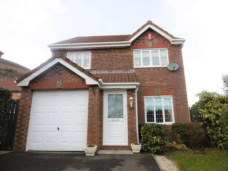 3 Bedrooms Detached House for sale in Howards Way, Victoria, Ebbw Vale, Blaenau Gwent.