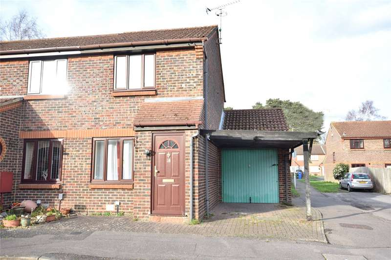 2 Bedrooms End Of Terrace House for sale in Charterhouse Close, Bracknell, Berkshire, RG12