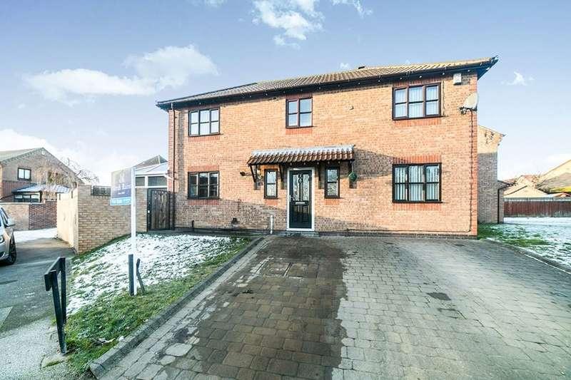 4 Bedrooms Detached House for sale in Argus Close, Festival Park, Gateshead, NE11