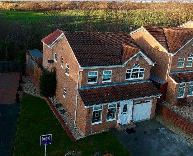 5 Bedrooms Detached House for sale in RIVERSIDE, SOUTH CHURCH, BISHOP AUCKLAND