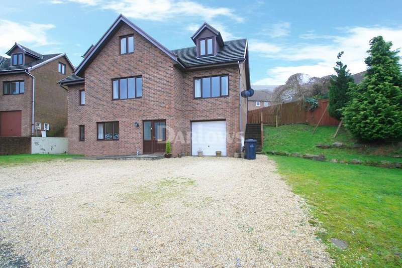 5 Bedrooms Detached House for sale in Woodland Walk, Blaina, Abertillery, Gwent