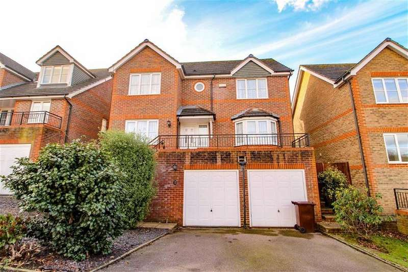 4 Bedrooms Detached House for sale in Rushmere Rise, St Leonards-on-sea, East Sussex