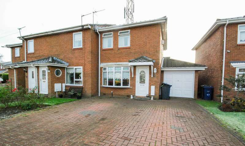 2 Bedrooms Semi Detached House for sale in Churchdown Close, Boldon Colliery