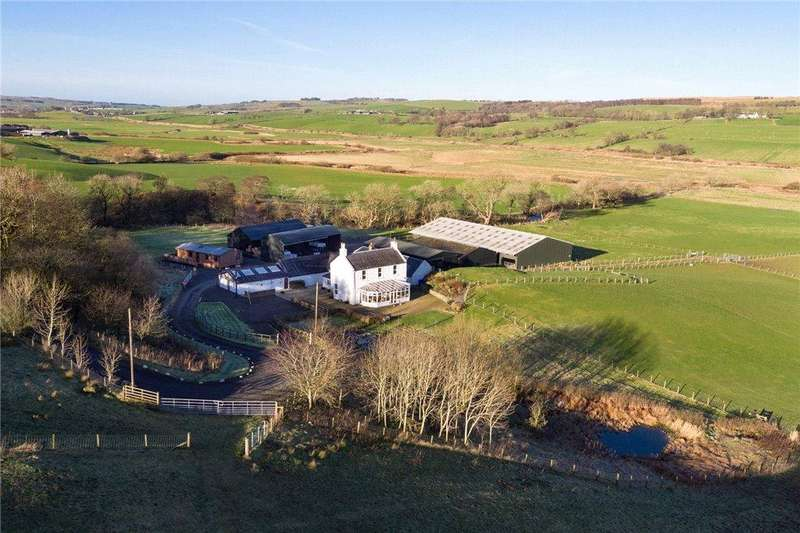 4 Bedrooms Equestrian Facility Character Property for sale in Meikle Westland Farm, New Cumnock, Cumnock, Ayrshire