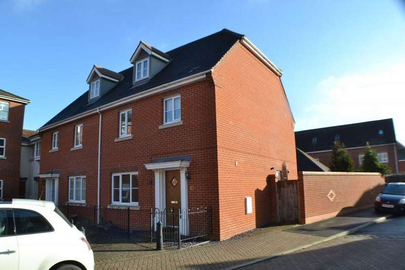 4 Bedrooms Semi Detached House for sale in Rotary Way Thatcham
