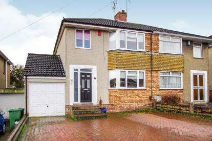 3 Bedrooms Semi Detached House for sale in Chedworth, Kingswood, Bristol
