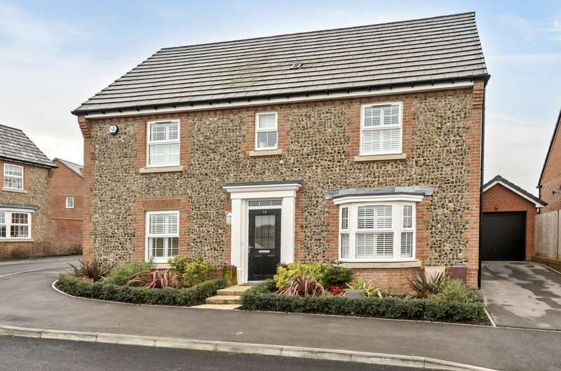 4 Bedrooms Detached House for sale in Columbine Way, Clanfield, PO8