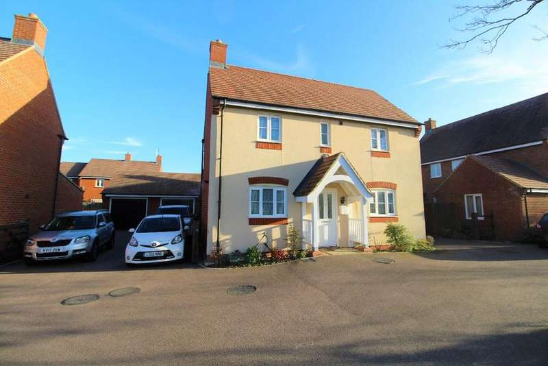 4 Bedrooms Detached House for sale in Heron Gardens, Wixams, MK42