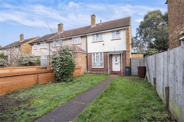 2 Bedrooms End Of Terrace House for sale in Roycraft Avenue, Barking, Essex