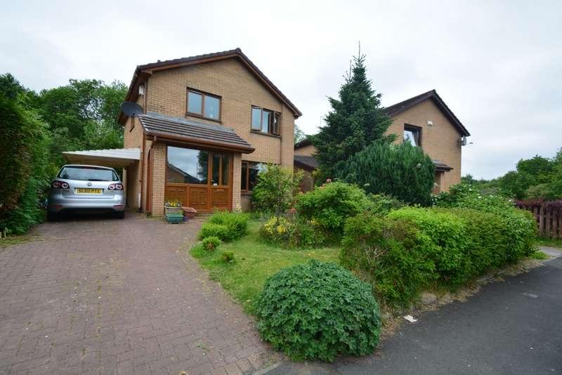3 Bedrooms Detached House for sale in Waulkglen Drive, Glasgow, G53