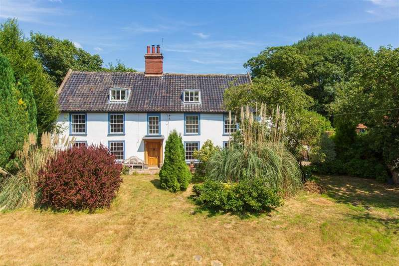 5 Bedrooms Detached House for sale in Haddiscoe, Norwich, NR14