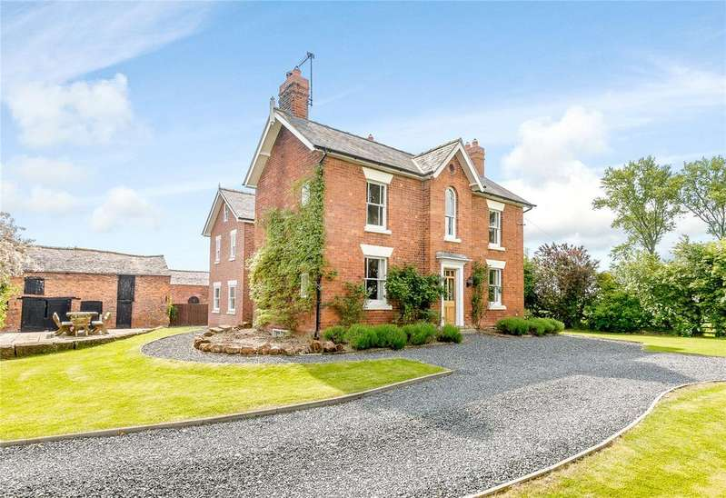 5 Bedrooms Detached House for sale in Edgerley, Oswestry, Shropshire