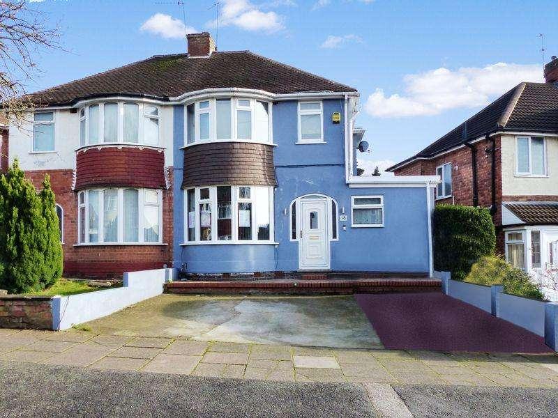 3 Bedrooms Semi Detached House for sale in Dorrington Road, Great Barr, Birmingham, West Midlands