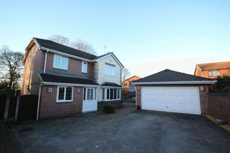 4 Bedrooms Detached House for sale in PASSMONDS WAY, Passmonds, Rochdale OL11 5AN