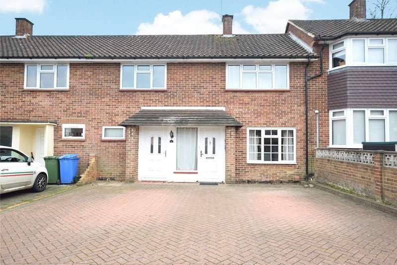 4 Bedrooms Terraced House for sale in Wilwood Road, Bracknell, Berkshire, RG42