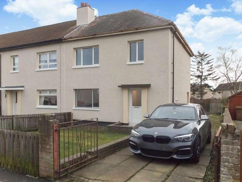 3 Bedrooms End Of Terrace House for sale in Methven Avenue, Kilmarnock, KA1