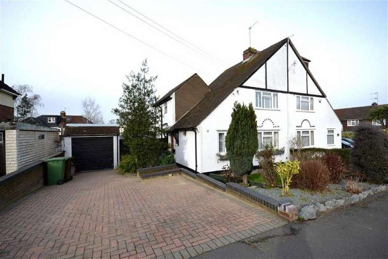 3 Bedrooms Semi Detached House for sale in Tennison Avenue, Borehamwood, Hertfordshire