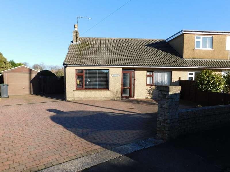 4 Bedrooms Semi Detached Bungalow for sale in Windsor Crescent, Ulverston, Cumbria, LA12 9NP
