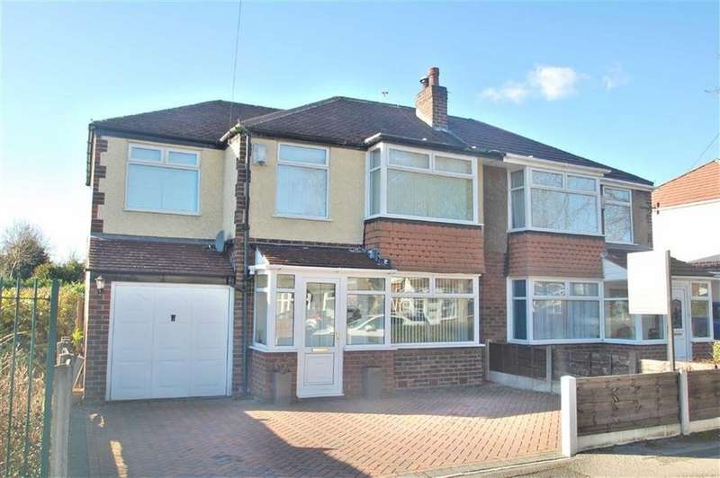 4 Bedrooms Semi Detached House for sale in Richmond Avenue, Handforth, Cheshire