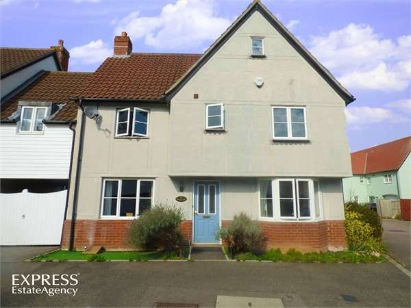 4 Bedrooms Link Detached House for sale in Cowdrie Way, Springfield, Chelmsford, Essex