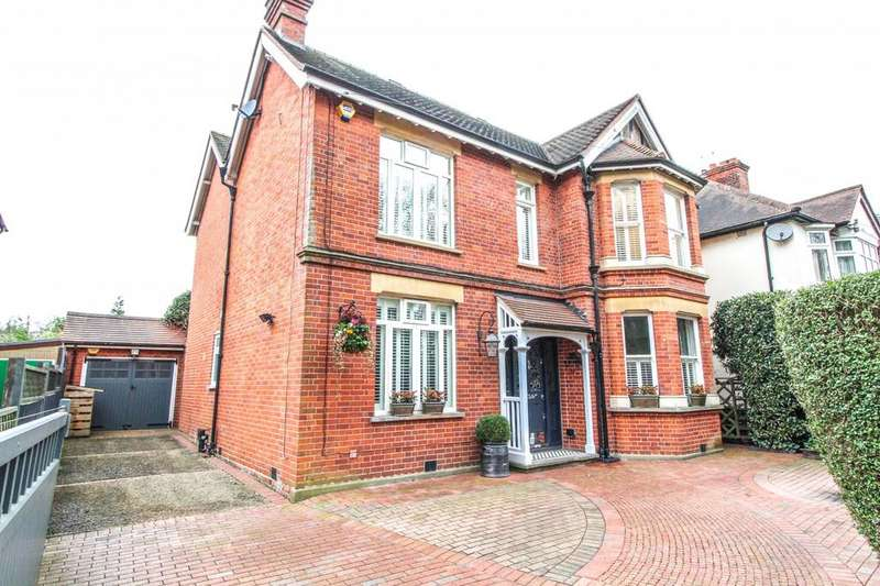 4 Bedrooms Detached House for sale in Hartswood Road, Warley, Brentwood, Essex, CM14