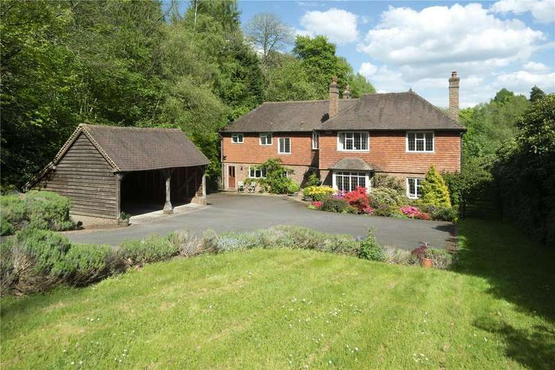 6 Bedrooms Detached House for sale in Coach Road, Ivy Hatch, Sevenoaks, Kent, TN15