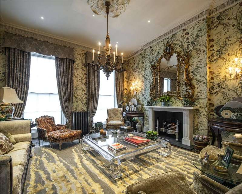 5 Bedrooms Terraced House for sale in Gloucester Gate, Regent's Park, London