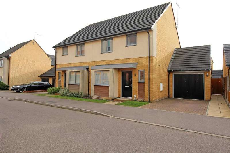 3 Bedrooms Semi Detached House for sale in Admiral Drive, Stevenage, SG1 4FL