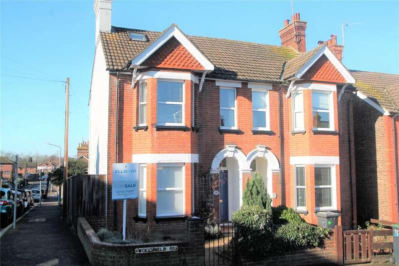 4 Bedrooms Semi Detached House for sale in Woodfield Road, Tonbridge, Kent, TN9