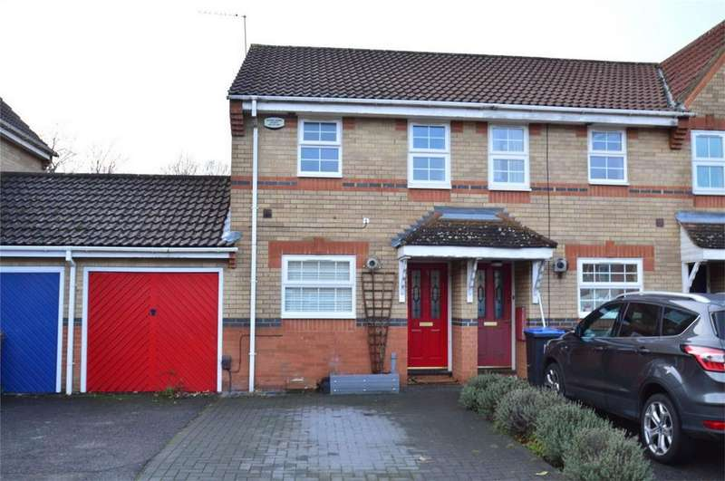 2 Bedrooms End Of Terrace House for sale in Kingsmill Court, HATFIELD, Hertfordshire