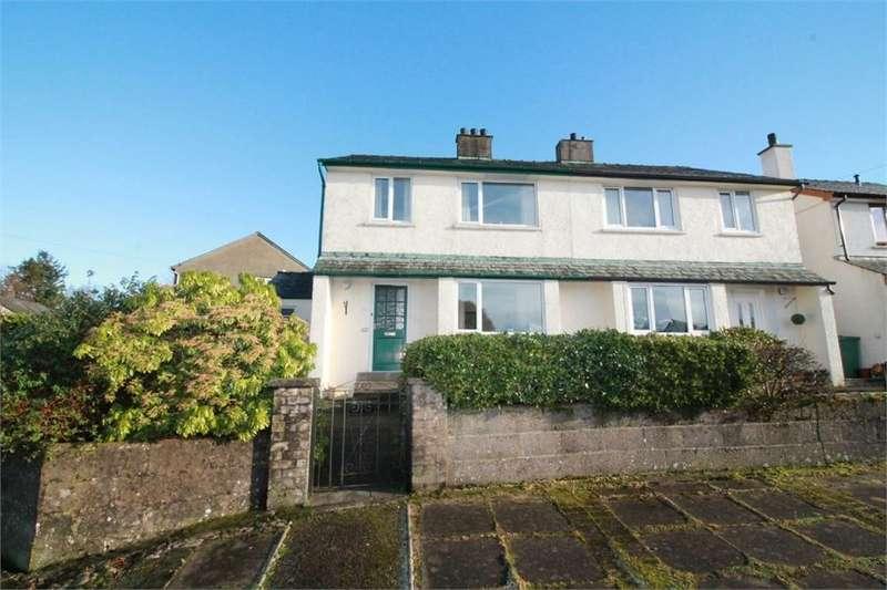3 Bedrooms Semi Detached House for sale in 131 Windebrowe Avenue, Keswick, Cumbria