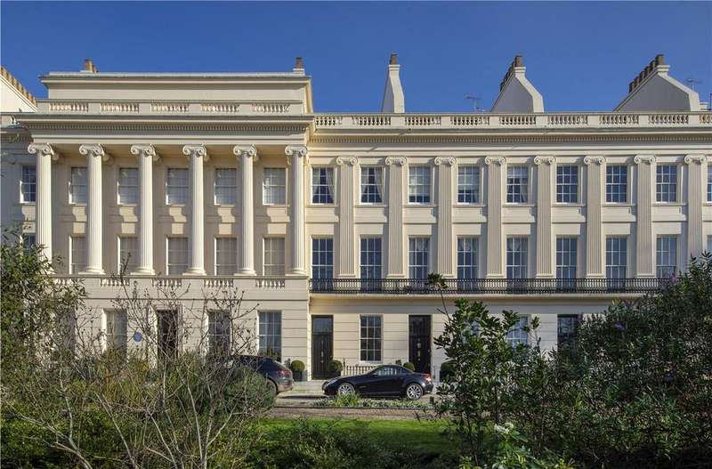 5 Bedrooms Terraced House for sale in Gloucester Gate, Regent's Park, London, NW1