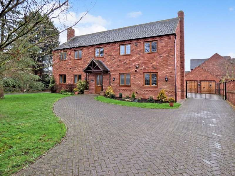 5 Bedrooms Detached House for sale in Dumore Hay Lane, Fradley, Lichfield