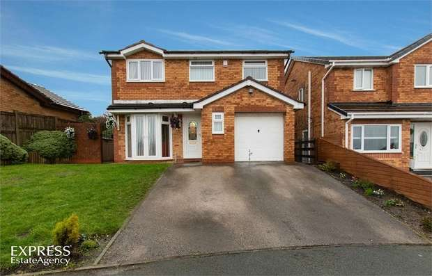 5 Bedrooms Detached House for sale in Kingsbury Court, Skelmersdale, Lancashire