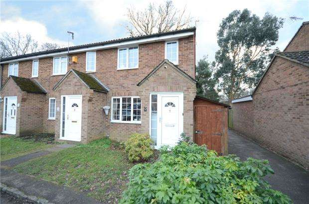 3 Bedrooms End Of Terrace House for sale in Mulberry Close, Heath Park, Sandhurst