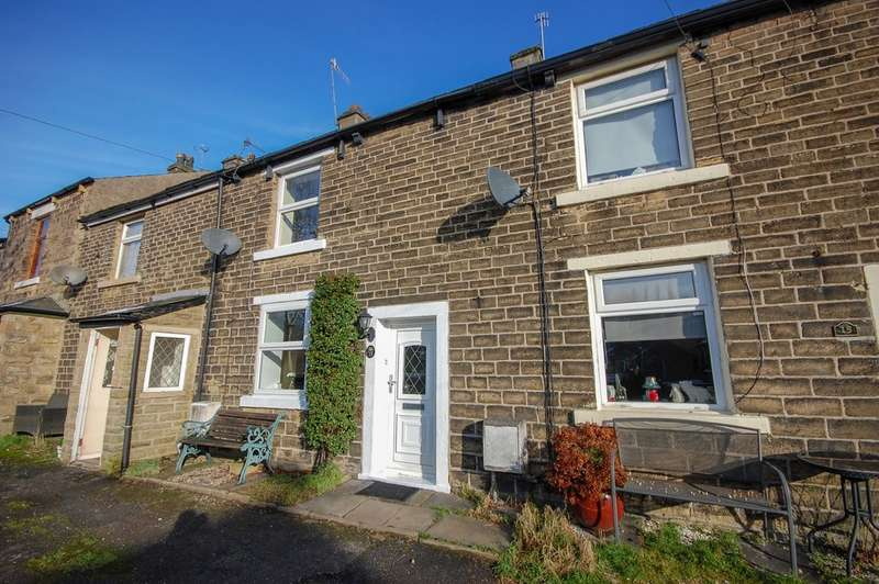 2 Bedrooms Terraced House for sale in Dinting Lane, Glossop