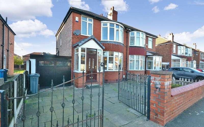 4 Bedrooms Semi Detached House for sale in Burnage Lane, East Didsbury