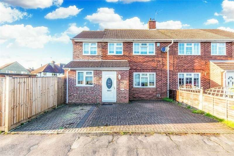 3 Bedrooms Semi Detached House for sale in Wethered Drive, Burnham, Buckinghamshire