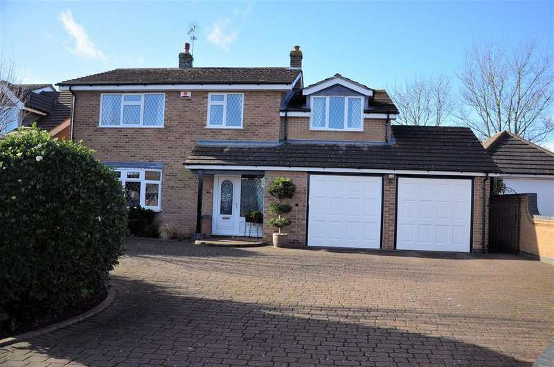 4 Bedrooms Detached House for sale in The Grange, Packington, Leicestershire