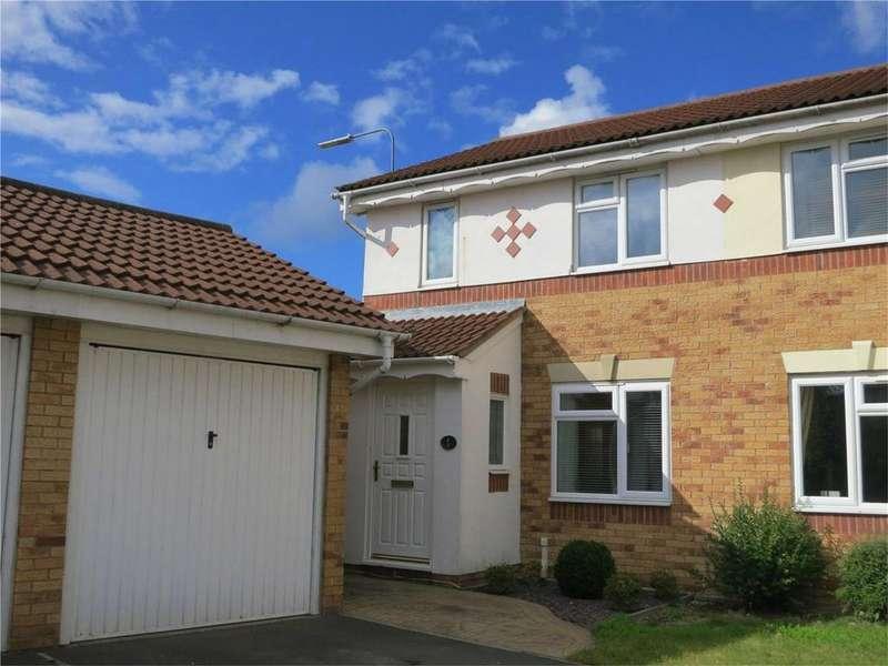 3 Bedrooms Semi Detached House for sale in Stevens Walk, Bradley Stoke, Bristol, BS32