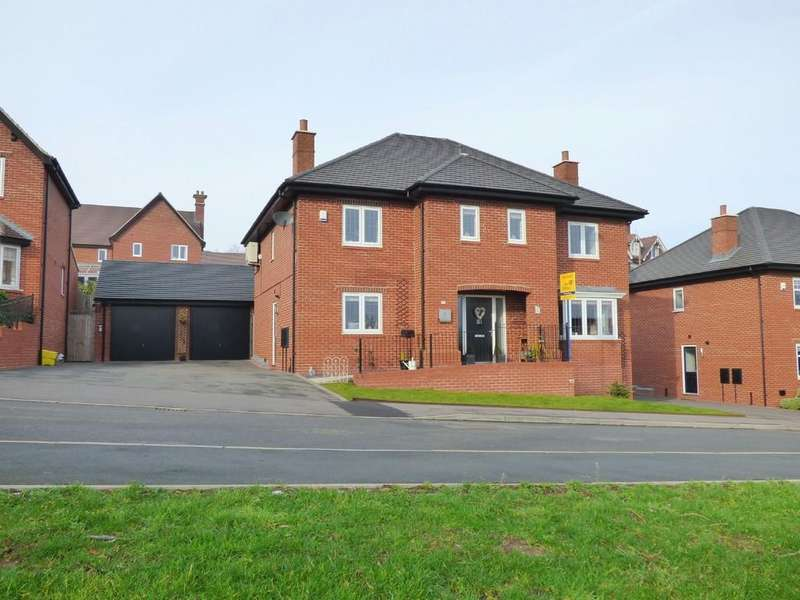 5 Bedrooms Detached House for sale in Spire Close, Ashbourne