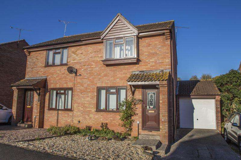 2 Bedrooms Semi Detached House for sale in Westernlea, Crediton