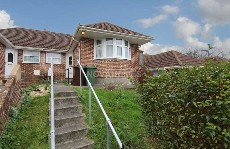 2 Bedrooms Bungalow for sale in Extended semi detached bungalow with no chain, St Budeaux