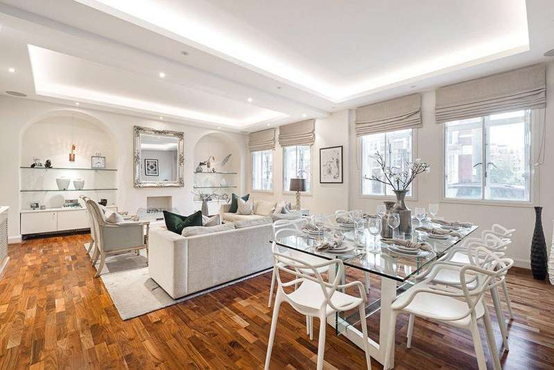 4 Bedrooms Flat for sale in Bryanston Court, George Street, London, W1H