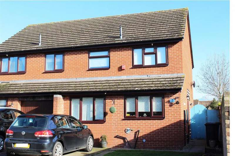 3 Bedrooms Semi Detached House for sale in Holm Oak Road, Belmont, Hereford, HR2