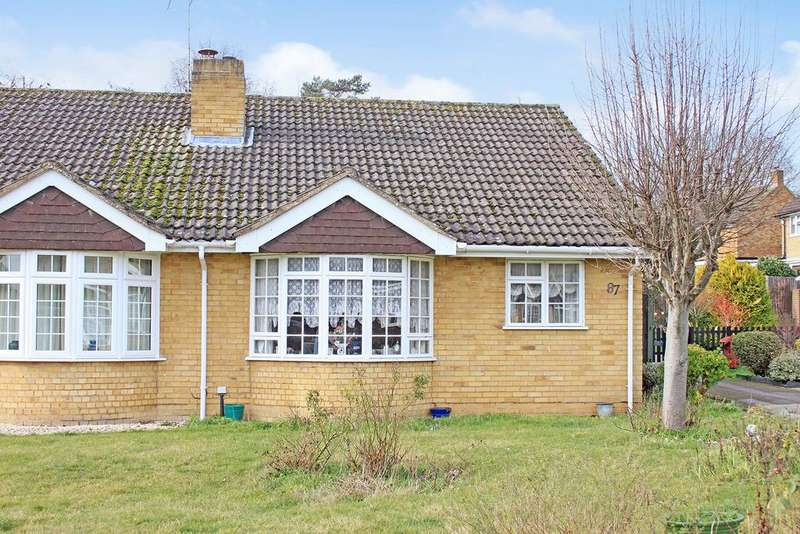 2 Bedrooms Semi Detached Bungalow for sale in Beverley Gardens, Maidenhead SL6