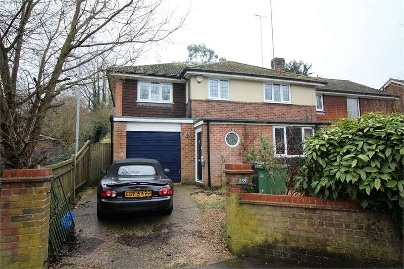 4 Bedrooms Semi Detached House for sale in Overdown Road, Tilehurst, READING, Berkshire