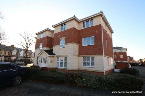 2 Bedrooms Property for sale in Gillespie Close, Bedford