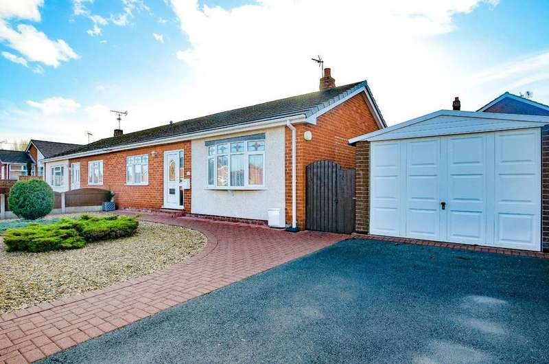2 Bedrooms Semi Detached Bungalow for sale in Dukesfield Drive, Buckley