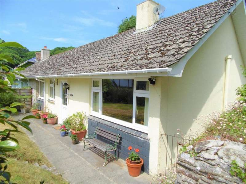 3 Bedrooms Semi Detached Bungalow for sale in Hessenford, Torpoint